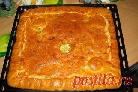 Пирог «любимый бабушкин Курник»