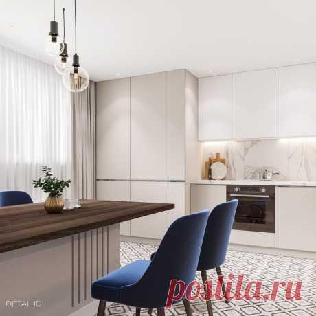 Дизайн интерьера кухни: как из 9 кв. м стало 15 кв.м