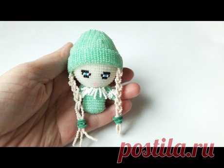 Кукла из бисера. Beading doll. Анонс мастер-класса.
