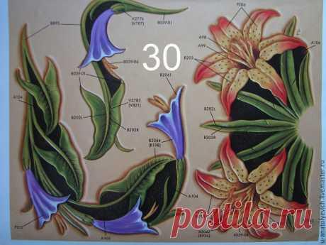 растительные шаблоны для тиснения на коже - 932 тыс. картинок. Поиск Mail.Ru