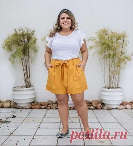 Какие шорты носить полным женщинам этим летом – В РИТМЕ ЖИЗНИ
