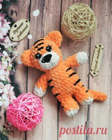 Амигуруми Тигр Free Pattern - Amigurumi