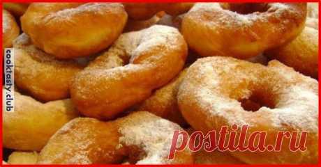 Воздушные пончики на кефире «Американские» . Милая Я