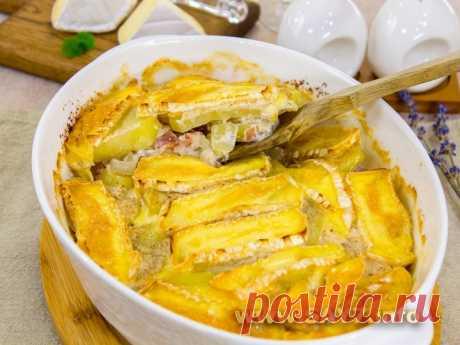 Тартифлет Тартифлет - популярное блюдо французской кухни. Оно получается очень вкусное, ароматное, сытное.