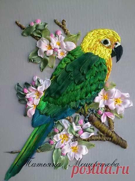 Как сделать попугая