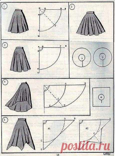 Шъём юбки