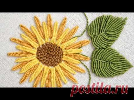 БРАЗИЛИЙСКАЯ ВЫШИВКА: Как вышивать цветы