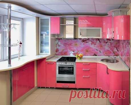 Как вам дизайн кухни?