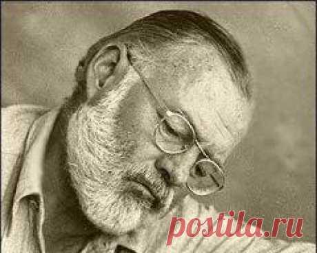 Сегодня 21 июля в 1899 году родился(ась) Эрнест Хемингуэй-ПИСАТЕЛЬ-США
