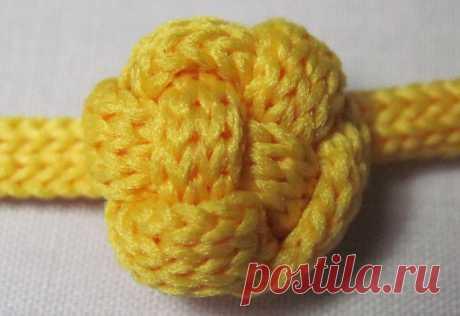 Плетеные пуговицы-шарики своими руками — Мастер-классы на BurdaStyle.ru