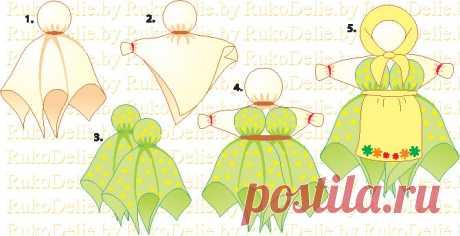 Волшебство славянских кукол :: Редкие техники :: RukoDelie.by