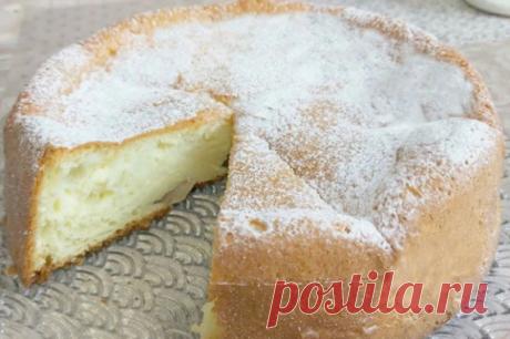 Творожный пирог – до безумия вкусный и до удивления простой.   Кулинарные рецепты   Яндекс Дзен