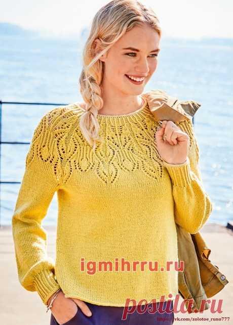 пуловер спицы   Записи в рубрике пуловер спицы   Дневник Elena_Businka