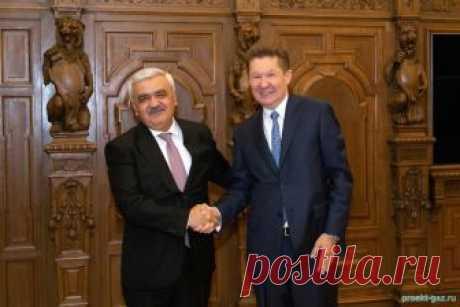 Миллер и Абдуллаев обсудили вопросы поставок газа в Азербайджан - 15 Октября 2018 - Проектирование газоснабжения