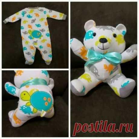 Мамы по всему миру шьют из старой одежды малышей невероятно милых медвежат