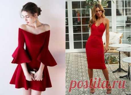 Время страсти: 10 платьев на День святого Валентина в красном цвете - tochka.net