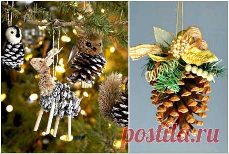 Невероятные новогодние украшения, которые можно сделать своими руками