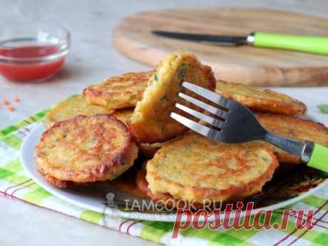 Оладьи из чечевицы — рецепт с фото Нежнейшие оладьи из чечевицы, приготовленные на сковороде.