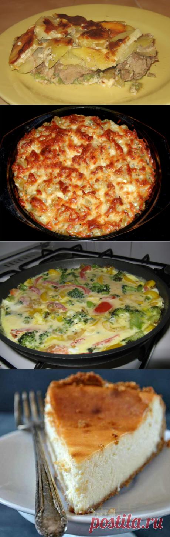 Лучшие рецепты запеканки на сковороде: без духовки, из яиц, с мясом