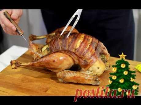 La receta de la pava navideña - YouTube