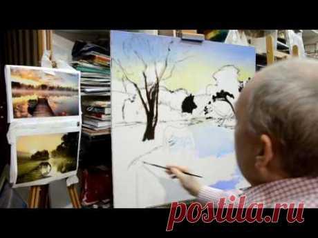 Занятие в школе живописи #38