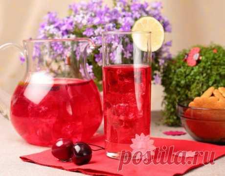 Рецепт вишневого лимонада | Напитки создаем,жажда ни почем | Яндекс Дзен