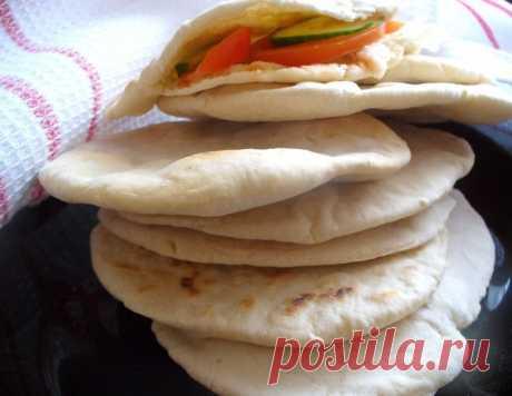 """Арабский хлеб """"Пита"""" – кулинарный рецепт"""