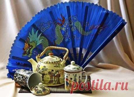 Китайские мотивы — сбор пазла — Пазлы онлайн