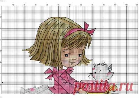 Куколки на счастье. Вышивка для детей: простые схемы крестом для начинающих малышей 5 лет