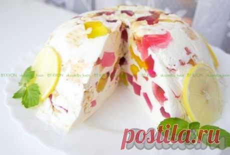 """Торт """"Битое стекло"""" - рецепт с фото"""
