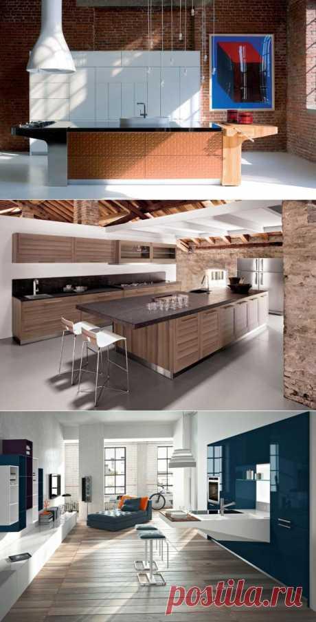 Итальянская кухня Mesa c деревянной поверхностью для разделки мясных изделий или овощей.