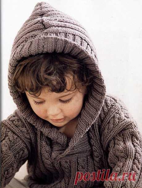 Вязание спицами для детей (от 0 до года, до 3 лет и старше). Видео, схемы и описание