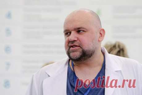 Главврач рассказал оситуации вбольнице вКоммунарке Главврач больницы вКоммунарке Денис Проценко рассказал, чтокутру 6апреля налечении вклинике находятся 405пациентов, у217изнихподтвержден коронавирус.