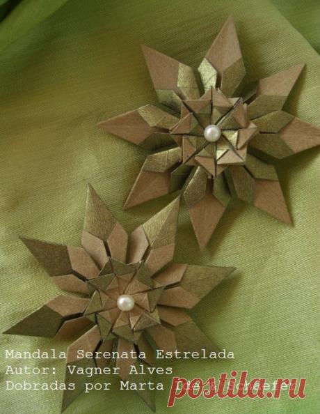 Новогоднее оригами. Видео мастер-классы