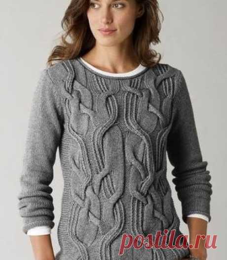 СВИТЕРА КОФТЫ пуловеры спицами