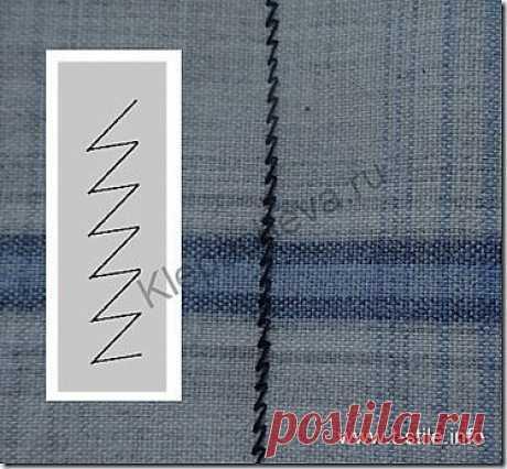 Как выбрать и установить нужные параметры основной трикотажной строчки|Искусство шить