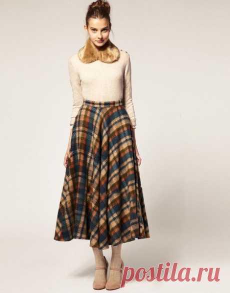 Клетчатая юбка - тренд сезона. С чем носить советы стилиста. | твой стиль | Яндекс Дзен