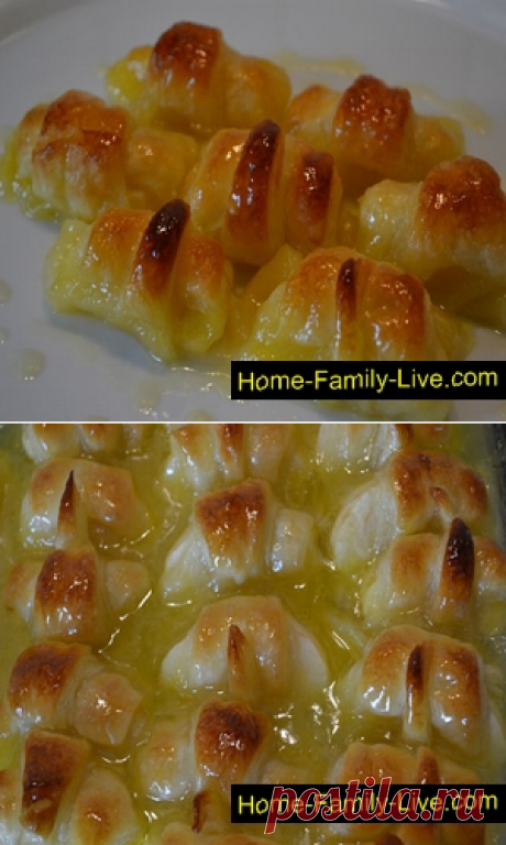 Слойки со спрайтом/Сайт с пошаговыми рецептами с фото для тех кто любит готовить