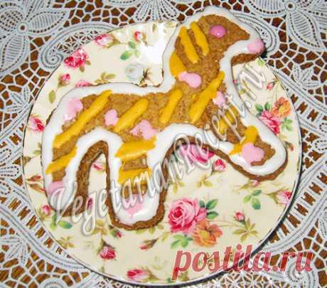 """Новогоднее печенье """"Сказка"""" - рецепт с фото"""