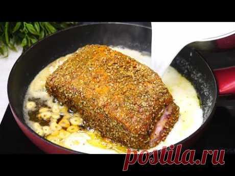 Мясо на сковороде мягкое  как Тушенка, Тает во рту. Готовится проще не придумаешь!