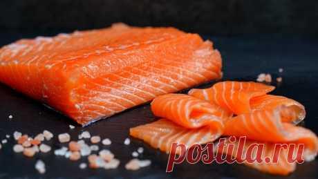 Рыба нежная как масло! Как вкусно засолить красную рыбу дома - малосольная семга (лосось, форель) — Кулинарная книга