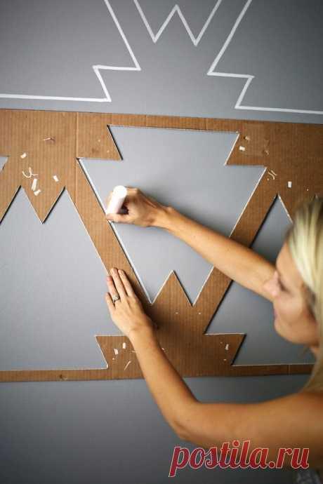 Как просто и необычно покрасить стены | Роскошь и уют