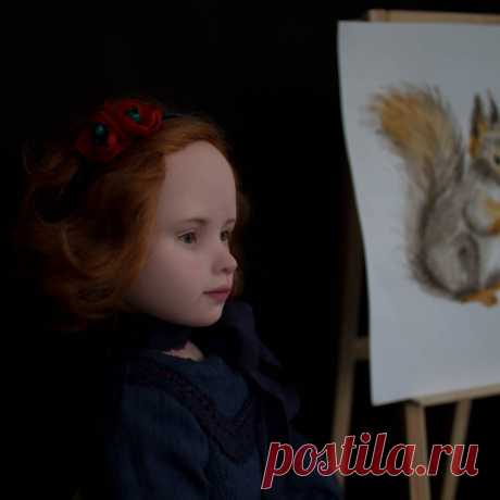 Маргарита кукла ручной работы | MaLenaDolls