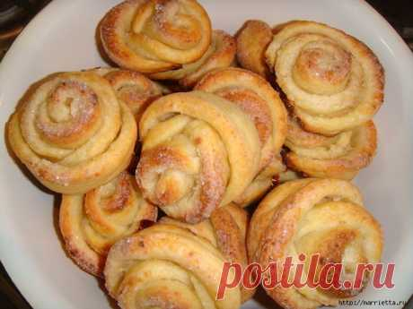 Сладкое печенье РОЗОЧКИ