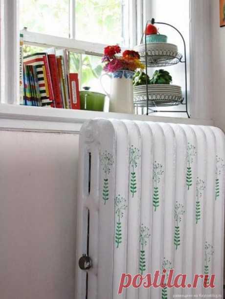 Как замаскировать батарею отопления | Мой дом