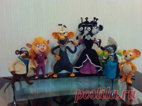 Мои мышки... My mice ... Amigurumi. Crochet. Вязать игрушки, амигуруми.