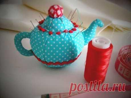 Игольница-чайник