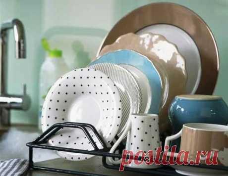 Как мыть посуду без химии?