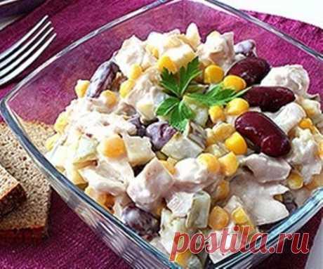 Вкусный салат за 15 минут | Готовим классно