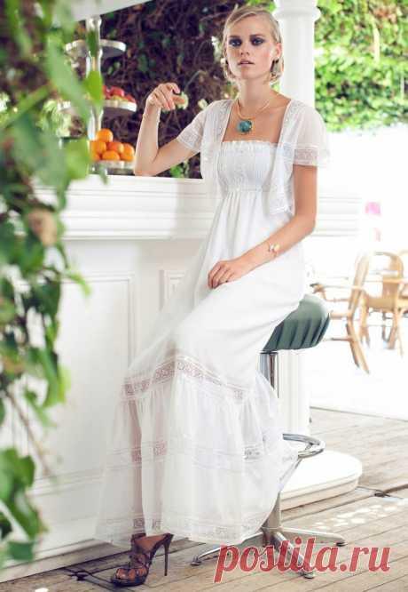 Белое бохо: шикарная одежда для королевы летнего пляжа - Сам себе мастер - медиаплатформа МирТесен
